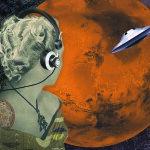 Venus on Mars smaller still